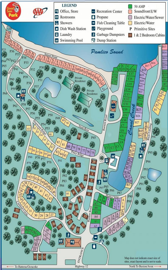 Frisco Woods Campground Outer Banks Vacation Guide